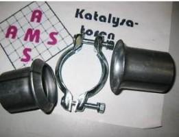 Universal Reparatur Flansch 50mm Auspuff Rohr französischer Rohrverbinder